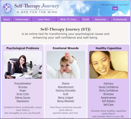 Self-Therapy Journey